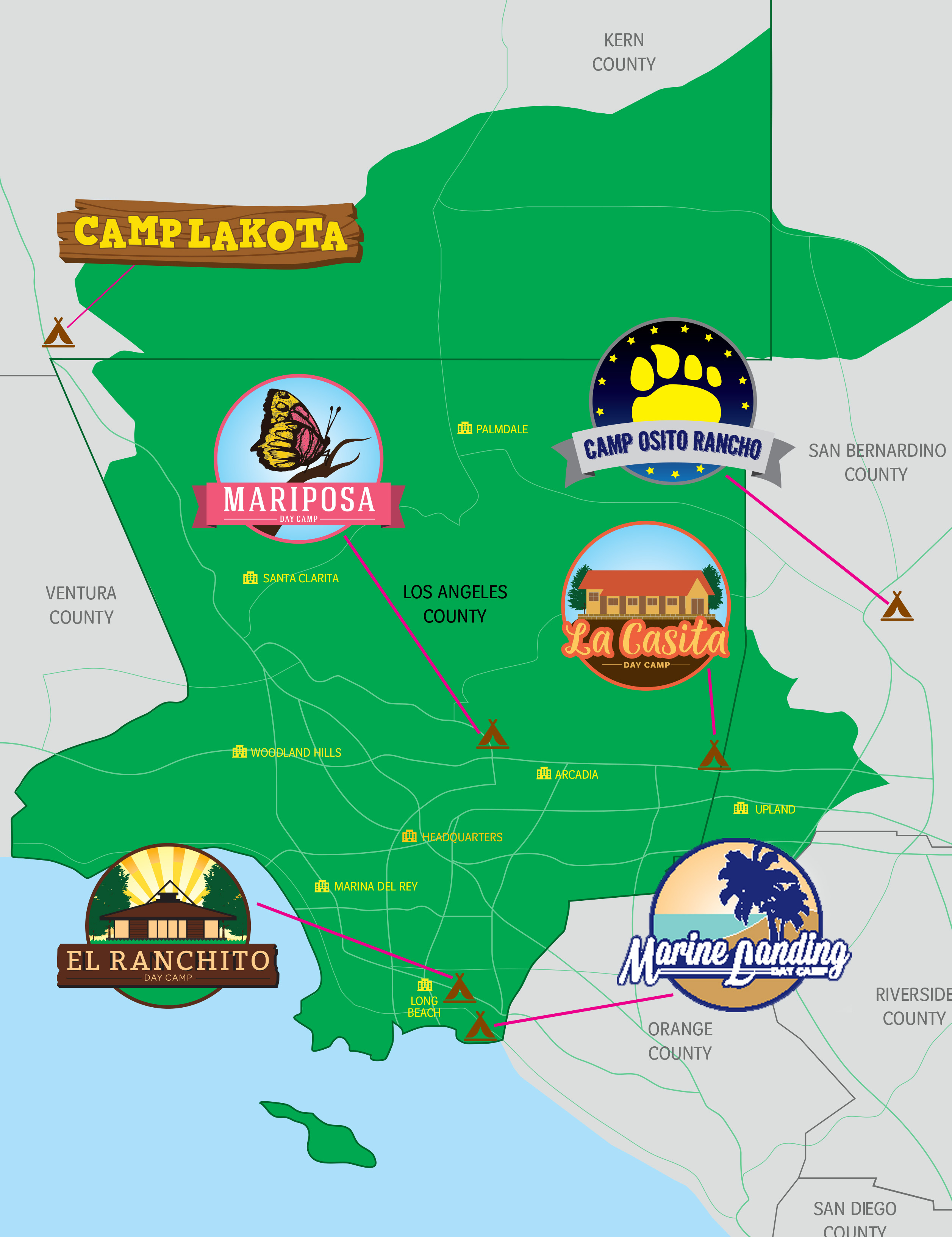 camp properties girl scouts of greater los angeles